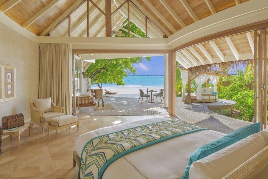 luxury resort room