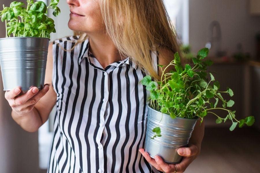 happy with plants